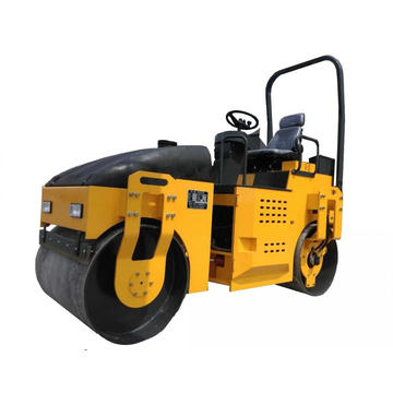Construction  Using 3000 KGS Hydraulic Road Roller